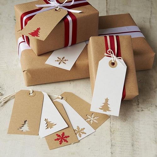 Как сделать новогодние упаковки
