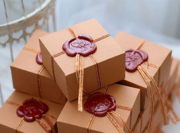 Сургуч упаковка подарков 51