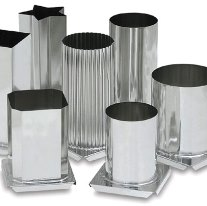 Металеві форми для свічок