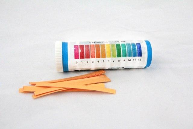 Лакмусовий папір (індикаторний папір) - 1