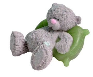 """Форма Люкс """"Тедди на подушке-2"""" 3D - 1"""