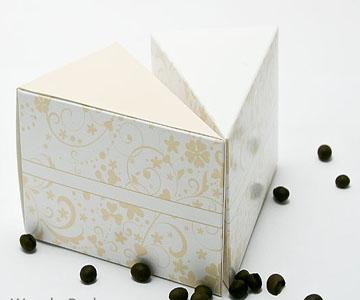 Коробка Кусочек Торта №001 - 1