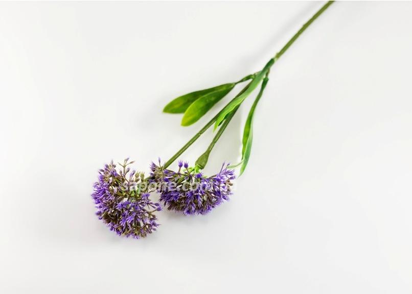 Добавка в букет - чеснок двойной (фиолетовый), 1 шт - 1