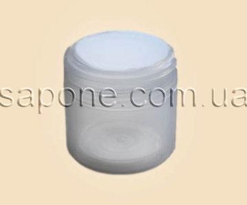 Баночка БП25-1 пластик (белая, с термосом), 25 мл - 1