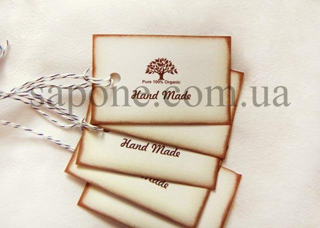 Бірка декоративна Tree №002 - 1