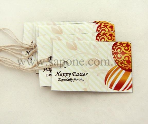 Бирка декоративная Easter №001 - 1