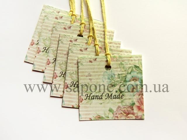 Бірка декоративна Handmade №003 - 1