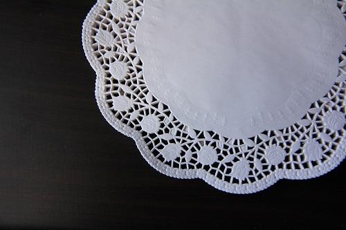 Серветка паперова ажурна, 36 см - 1