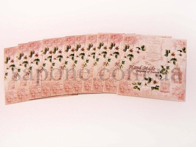 Бірка декоративна Handmade №011 - 1