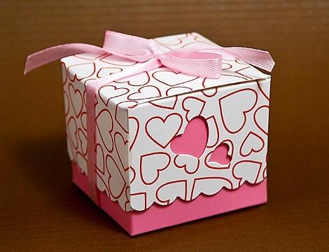 Коробка Бон-Бон Сердечная №001 - 1