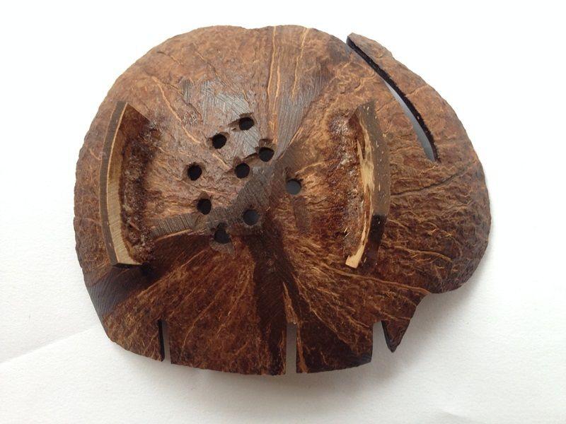 Мильниця з кокосового горіха (слоник) - 3