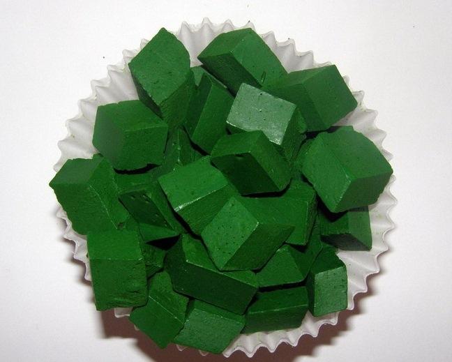 Восковый краситель для свечей: зеленый - 1