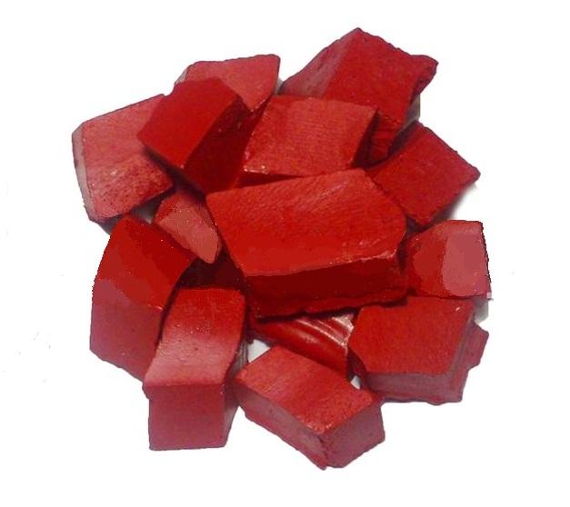 Восковый краситель для свечей: рубиновый - 1
