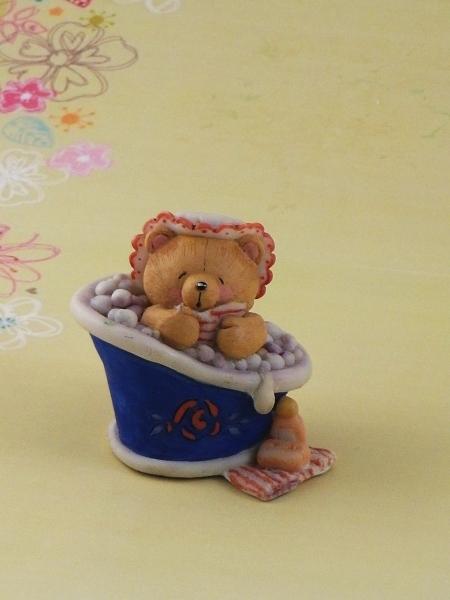 "Форма Люкс ""Мишка в ванне"" (Hallmark) 3D - 1"
