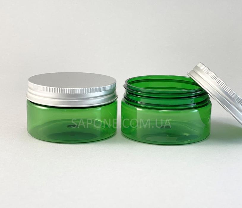 Баночка БП100-4 пластик (зеленая с алюм.крышкой), 100 мл - 1