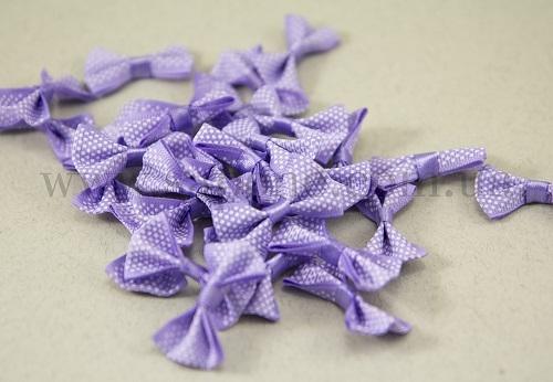 Бантики тканевые Фиолетовые - 1