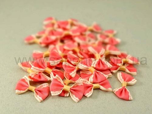 Бантики тканевые Розовые - 1