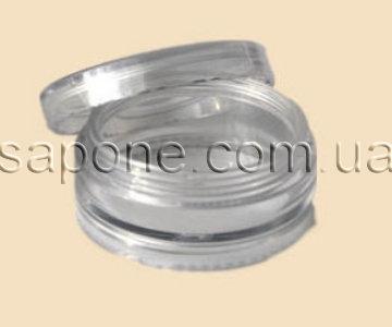 Баночка БП05-2 пластик (прозрачная), 5 мл - 1