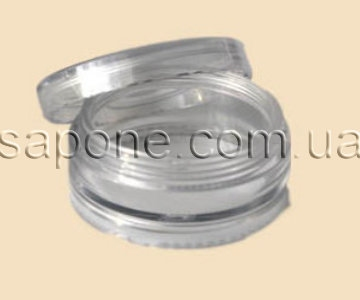 Баночка БП05-2 пластик (прозора), 5 мл - 1