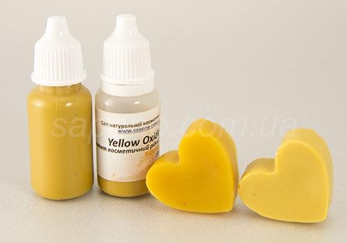 Пігмент рідкий: жовтий Yellow Oxide - 1