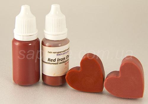 Пигмент жидкий: красный Red Iron Oxide - 1