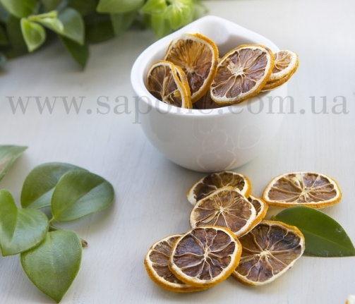 Лимон, сушенные дольки - 1