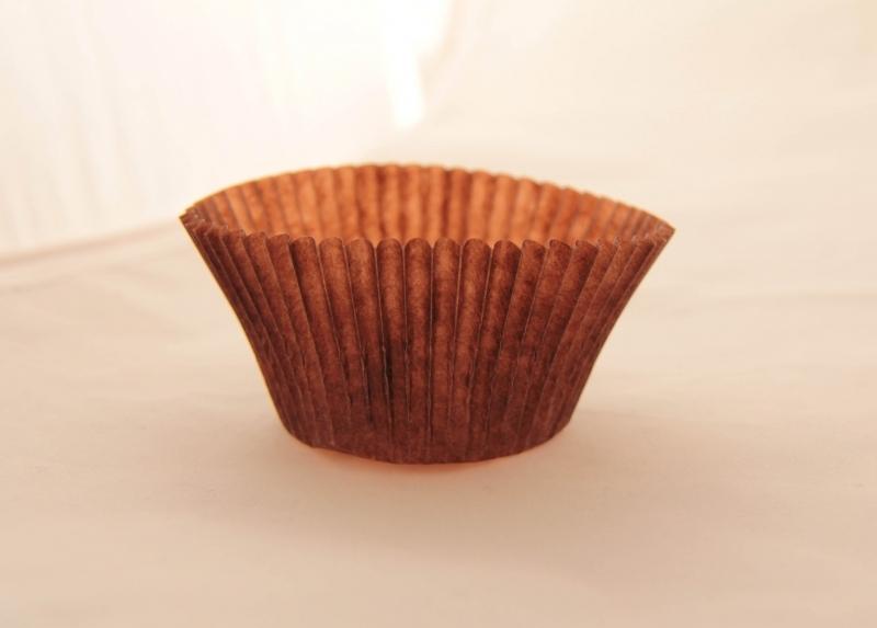 Тарталетка паперова Т-6 (коричнева) - 1