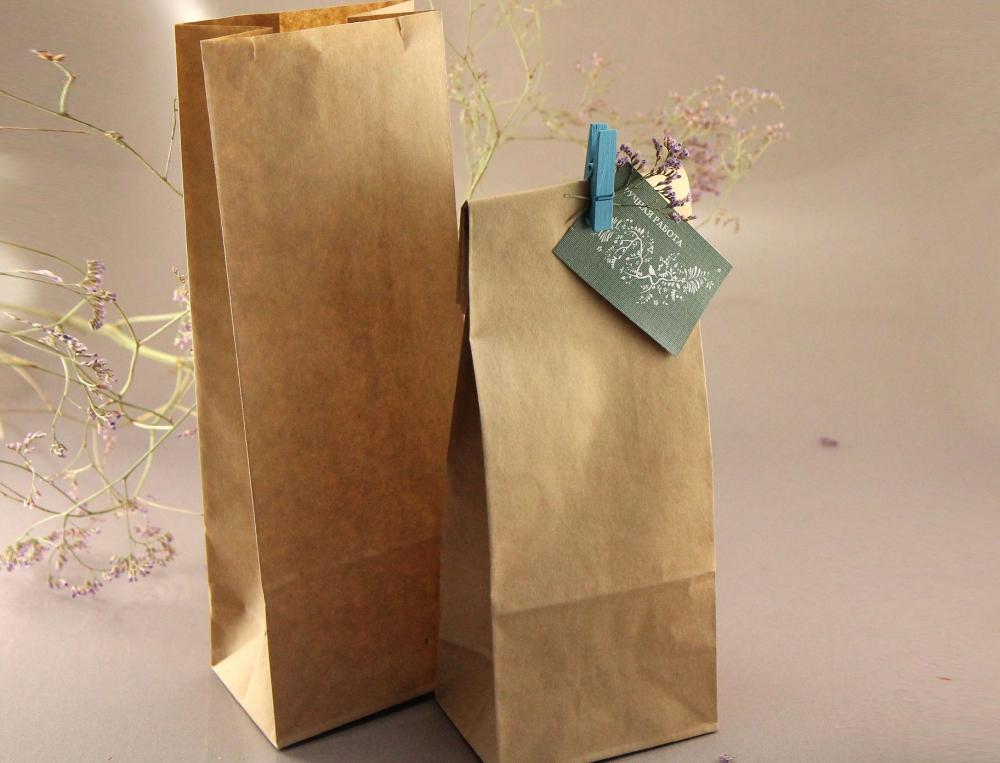 """Пакет бумажный """"Саше-4"""" (с квадратным дном) - 1"""