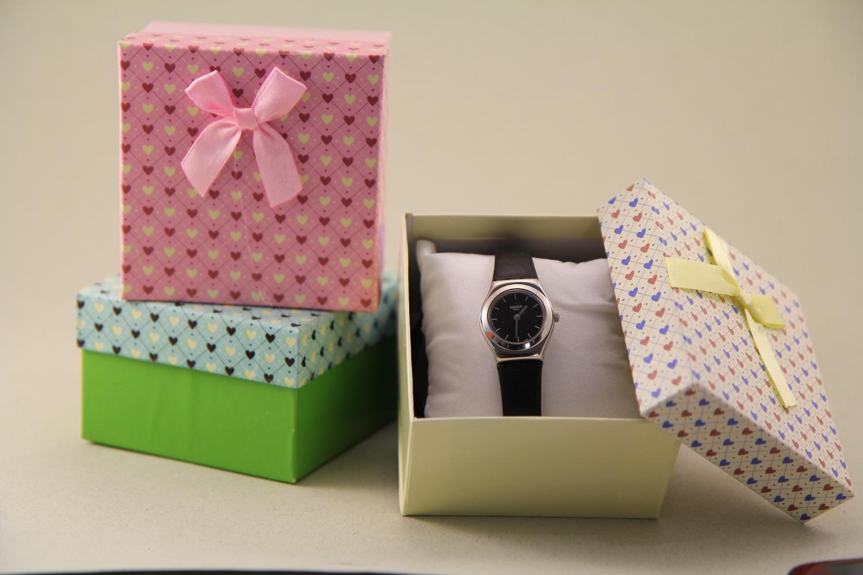 """Подарочная коробка """"Для бижутерии цветная"""" - 1"""