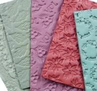 Штампы для мыла, текстурные коврики
